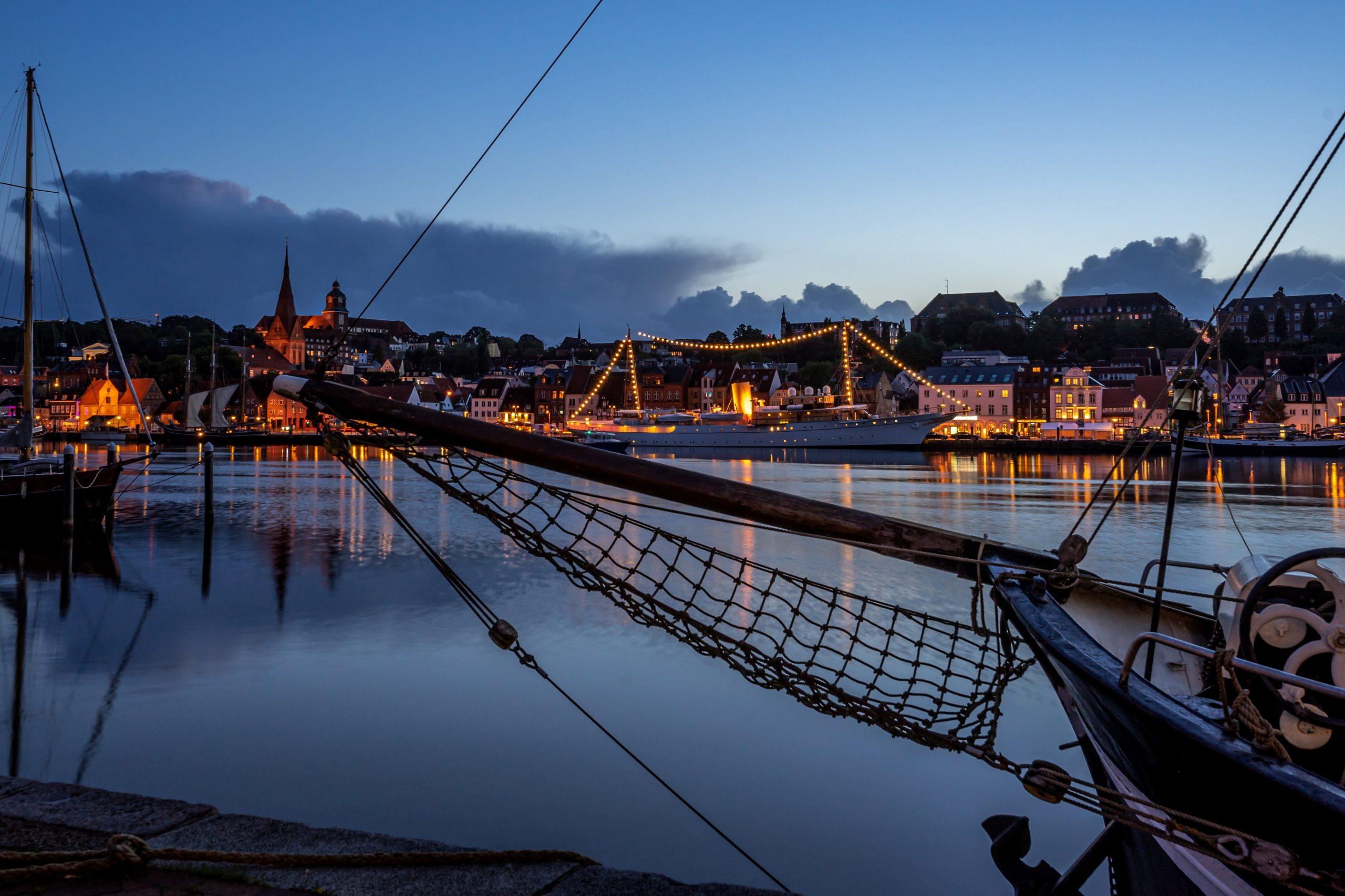 Flensburg, Yacht Dannebrog