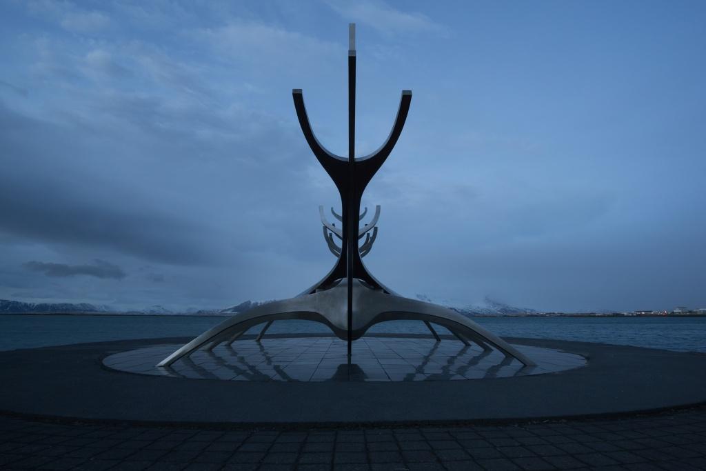 Solfarid (Sólfarið), frontal