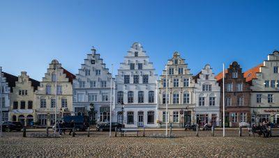 Friedrichstadt, Marktplatz