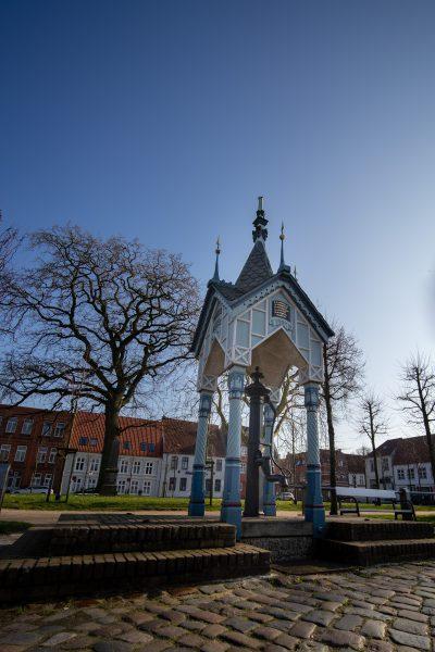 Friedrichstadt, Brunnen am Marktplatz