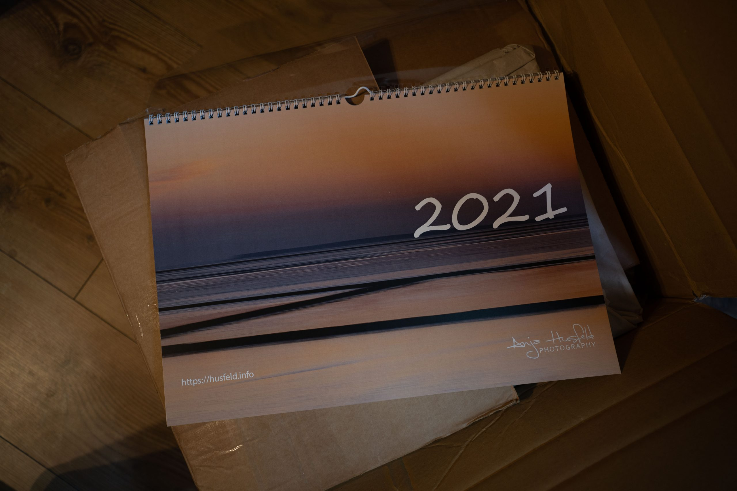 Wandkalender 2021 – in A3 Querformat!